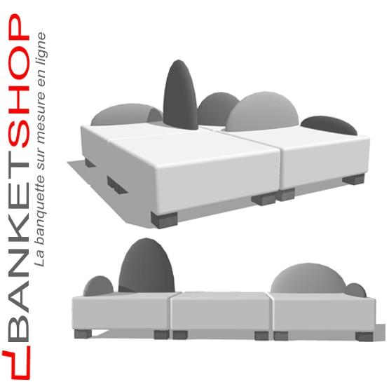 banquette et canap sur mesure modulable pour l 39 am nagement en mobilier. Black Bedroom Furniture Sets. Home Design Ideas