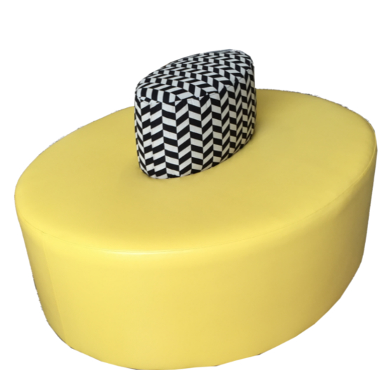 pouf chauffeuse restaurant banketshop la banquette. Black Bedroom Furniture Sets. Home Design Ideas